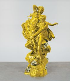 #JeffKoons sculptures and paintings are meticulously, mechanically polished and groomed that they rebuff any attempt to look at them, much less feel anything about them states NY Books Art Critic #JedBerl.