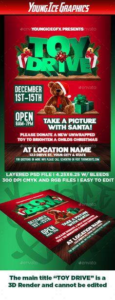 Christmas Bash Flyer Template  Flyer Template Template And