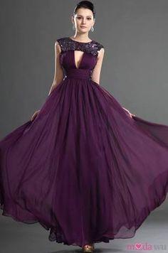 Draped Art Silk Pleated Bodice Keyhole Back Elegant & Luxurious Floor Length Hourglass Sheath Prom Dress Purple Evening Dress, Purple Gowns, Sequin Evening Dresses, Purple Dress, Evening Gowns, Prom Dresses, Glamour, Gown With Jacket, Pleated Bodice