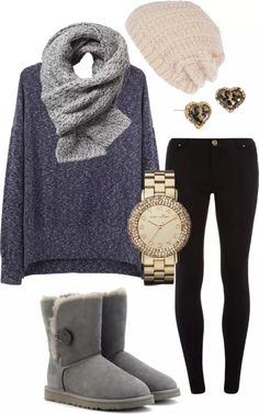 This's looks like an outfit for fall.