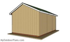 This step by step diy woodworking project is about free pole barn roof plans. This is PART 2 of the pole barn project. Pole Barn Trusses, Roof Trusses, Pole Barn Plans, Roof Trim, Garage Apartment Plans, Corrugated Roofing, Log Home Plans, Metal Building Homes, Pole Barn Homes