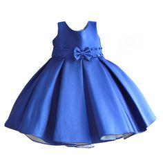 6f66e3b44 Ropa De Gala, Vestidos Bebe Niña, Vestidos De Fiesta Para Niñas, Vestidos  Azules