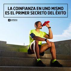 La confianza en uno mismo es el primer secreto del éxito Frases, Quote Of The Day, Confidence, December