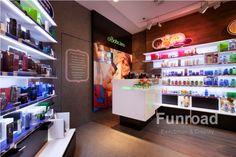 cosmetics shop display - Google Search