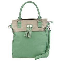 SHOEMALL.COM - Array Vanessa Tote Bag - mint - free shipping! - $49.95