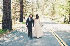 bride and groom,Wedding, Quiet Creek Inn, Idyllwild, California