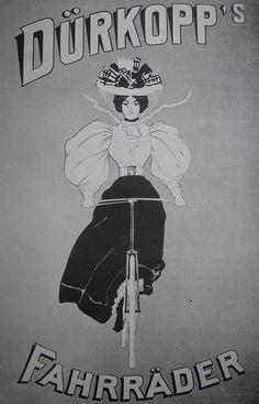 Vintage Bicycle Posters: Drkopp, via Flickr. - #bicycles
