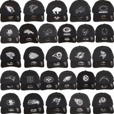 New Era NFL Core Classic 920 Adjustable Baseball Dad Hat Cap. Black   White  Color bb2bacacee84