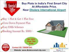 Purchase Plots near Dholera International Airport.  #Dholera #DholeraSIR #DholeraSmartCity #Gujarat