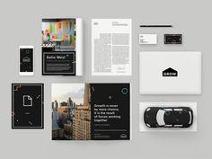 Grow Brand Identity by Clay #Design Popular #Dribbble #shots