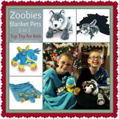 Zoobies Blanket Pets make Great gifts for Kids
