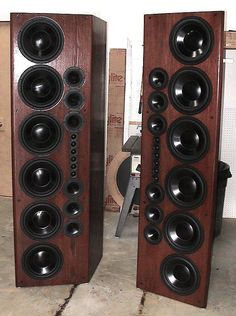 High End Audio Equipment For Sale Horn Speakers, Diy Speakers, Stereo Speakers, Homemade Speakers, Tower Speakers, High End Speakers, High End Audio, Built In Speakers, Audiophile Speakers