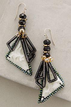 Swallowtail Earrings #anthropologie