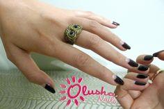 Half Moon, vintage manicure