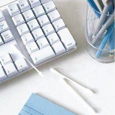 Para limpiar los teclados