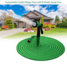 Original High Quality 25FT-100FT Garden Hose Expandable Magic Flexible Water Hose Plastic Hoses Pipe With Spray Gun To Watering #Affiliate