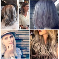Silver/Grey bang on trend
