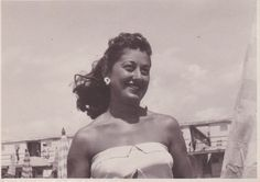 Nonna Yve in her day.