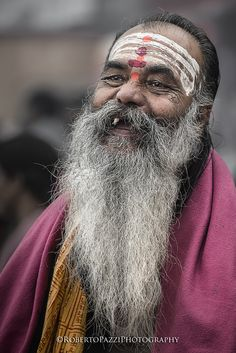 "A sadhu in Varanasi (India).   Visit http://robertopazziphotography.weebly.com, subcribe to the newsletter and download the ebook ""Streets of the World"" as welcome gift!  Web Site: http://robertopazziphotography.weebly.com/ Facebook: Roberto Pazzi Photography Instagram: Roberto_Pazzi_Photography"