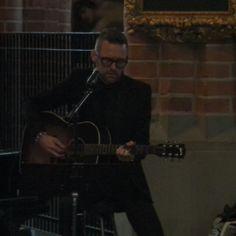 Video Jocke Berg singing on kristoffer ahlbom wedding in Storkyrkan Stockholm's Cathedral