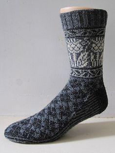 Ravelry Ravelry: Onopordum pattern by General Hogbuffer. This guy is awesome. So far every pattern has been listed for free and they are wonderful patterns. Very unique esp with men in mind - Crochet Socks, Knit Or Crochet, Knitting Socks, Hand Knitting, Knitting Patterns, Knit Socks, Socks Men, Cozy Socks, Lots Of Socks