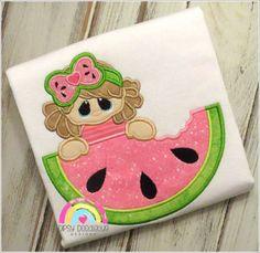 Watermelon Girl - Summer Melon Shirt - Girls Watermelon Shirt - Watermelon Shirt - Summertime Shirt - Girls Shirt - Watermelon Cutie