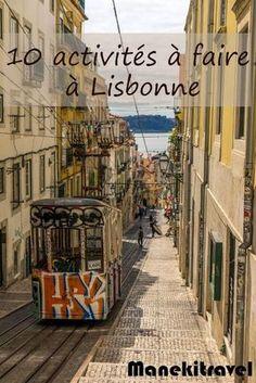 Que faire à Lisbonne ? #voyage #europe #lisbonne #portugal #blogvoyage