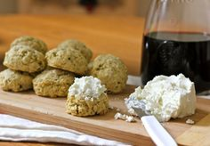 """Caren Blair: Rosemary Parmesan """"Cookies"""""""