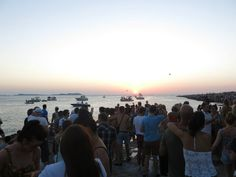Sunset at San Antonio — at San Antonio Ibiza.