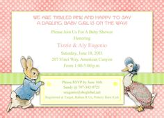 peter rabbit invite