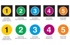 What do you think of the new TTC subway icons?