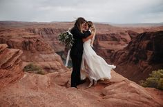 Grand Canyon Horseshoe Bend elopement