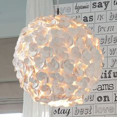 Love the chandelier as well ~ Want to get it for my room!
