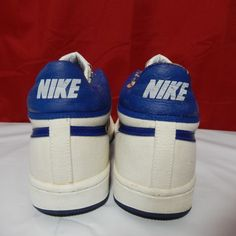 premium selection b676d dc1d7 VTG OG 1984 Nike Challenge Court 3 4 Canvas Tennis Shoes Rare Mac Attack