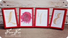 I love this fast decor idea. Not only is it fast but it's also really inexpensive to make. Just grab some frames from your local dollar store, and print up the free printable - it's that easy. Anot...
