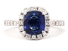 ♥ sapphire ring