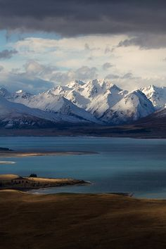 """ Godly Peaks Road, Lake Tekapo by ZacRobinson """