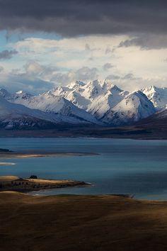 """ Godly Peaks Road, Lake Tekapo by ZacRobinson """
