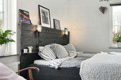Kliar det i fingrarna efter ett enkelt DIY-projekt inför helgen? Eller har du bara inte hittat den perfekta sänggaveln för ditt sovrum ännu? BoKlok har inspirerats av kloka kunder - hoppas de här bilderna inspirerar även dig till att ta fram snickarbältet!