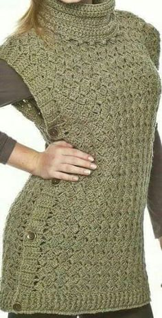 images attach c 7 98 793 Crochet Jacket, Crochet Cardigan, Knit Crochet, Loom Knitting, Knitting Patterns, Crochet Patterns, Crochet Woman, Crochet Fashion, Crochet Clothes