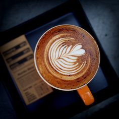Really like the design of this latte art