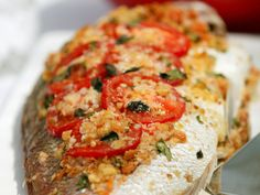 Baked whole fish, fish recipe, brought to you by Australian Table