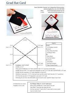 be/B_IxakbDJpg and PDF … Graduation Cap Mortarboard fun fold video tutorial youtu.be/B_IxakbDJpg and PDF Graduation Cards Handmade, Graduation Diy, Grad Gifts, Graduation Invitations, Graduation Announcements, Fancy Fold Cards, Folded Cards, Grad Hat, Preschool Graduation