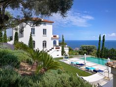 Property Of Luxurious property with spectaculer sea view over the bay of St. Tropez