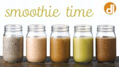 Smoothies might just be the perfect healthy snack or meal replacement. Enjoy these five fresh recipes, featuring seasonal produce, made-in-nature flavoring, and limited added sugars. Yummy Smoothie Recipes, Yummy Smoothies, In Season Produce, Juices, Healthy Snacks, Fresh, Meals, Nature, Summer