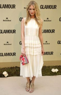 Poppy Delevigne in Jonathan Saunders, Glamour Spain 10th Anniversary Party
