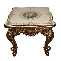 Marquis Gilt End Table - AFD Home