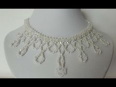 One beautiful beaded simple necklace. Just look and follow step by step. Facebook: https://www.facebook.com/Aylake.Jewelry/ Twitter: https://twitter.com/ayla...