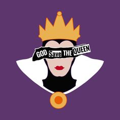 Shop God save the Evil Queen snow white t-shirts designed by TeeAgromenaguer as well as other snow white merchandise at TeePublic. Disney T-shirts, Disney Cards, Arte Disney, Disney Love, Disney Magic, Wallpaper Iphone Cute, Disney Wallpaper, Evil Queen Quotes, Disney Evil Queen