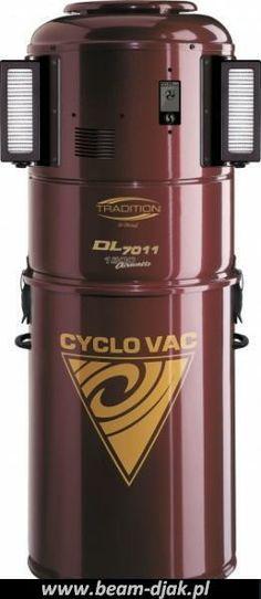 Odkurzacz Centralny CYCLOVAC DL 7010-7011.